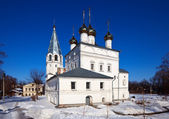 Cathedral at Vyazniki in winter. Russia — Stock Photo
