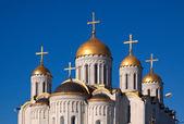 Cúpulas de la catedral de asunción — Foto de Stock