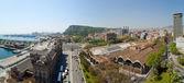 Panorama view of Barcelona — Stock Photo