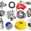 Set of auto parts — Foto de Stock