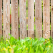 Wooden fence background — Stockfoto