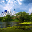 Orthodoxy monastery at Bogolyubovo — Stockfoto