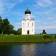 Church of the Intercession on River Nerl — Stock Photo #12488317