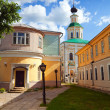 Stock Photo: Old street at Vladimir