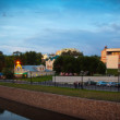 Panorama of Ivanovo in summer evening — Stock Photo