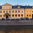 Panorama of historical district in Moscow — Stock Photo
