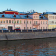 Panoramic view of historical district of Moscow — Stock Photo