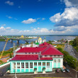View of Nizhny Novgorod — Foto Stock