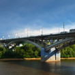 Stock Photo: Kanavinsky bridge through OkRiver