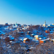 Stock Photo: Downtown of Vladimir city in winter