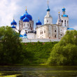 Summer view of nunnery. Bogolyubovo — Stockfoto