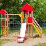 Childrens playground area — Stock Photo
