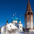 Cathedral at Gorokhovets in winter. Russia — Stock Photo