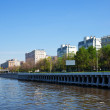 Stock Photo: Embankment of MoskvRiver
