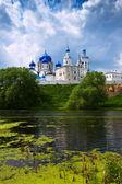 Orthodoxy monastery at Bogolyubovo in summer — Stock Photo
