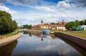 Nehir uvod ile Ivanovo görmek — Stok fotoğraf