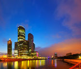 View of Moscow in morning — Stock Photo