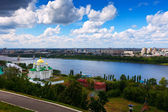 View of Nizhny Novgorod — Stock Photo