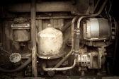 复古的老照片引擎 — 图库照片