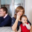 Family quarrel — Stock Photo
