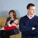 Family quarrel — Stock Photo #12495187