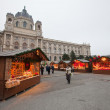 Christmas market in Vienna, Austria — Stock Photo #12504618