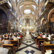 Interior of Santa Maria de Montserrat church — Stock Photo #12505730