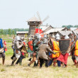 Knights battle - Stock fotografie