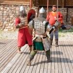 Knights battle — Stock Photo #12505934