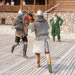 Knights battle - 图库照片
