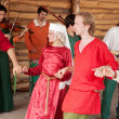 Celtic dances - Stock Photo
