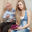 Financial problems in family — Stock Photo #12509071