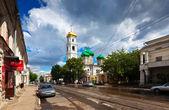 Stará ulice v nižném novgorodu — Stock fotografie