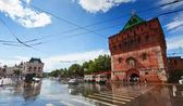 Kremlin at Nizhny Novgorod in summer — Stock Photo