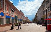 Pedestrian street in history district of Nizhny Novgorod — Stock Photo