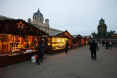 Christmas market in Vienna, Austria — Stock Photo