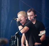 """Rocková kapela """"kihot"""" — Stock fotografie"""
