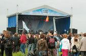 Open-air rockového festivalu — Stock fotografie