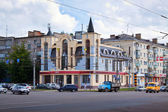 View of Ivanovo - Friedrich Engels Street — Stock Photo