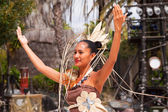 Polynesian show — Stock Photo