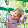 Royalty-Free Stock Photo: Portrait of two-year child at playground