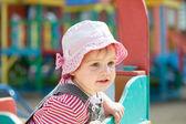 Two-year child at playground — Stock Photo