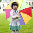 Girl with umbrella — Stock Photo #11736506