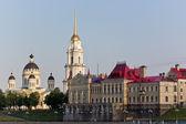Spaso-preobrazheniky cathedral on Volga — Stock Photo