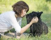 And animals — Stock Photo