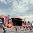 Fan zone Euro2012 - Stock Photo