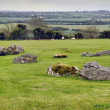 Royalty-Free Stock Photo: Panorama Boyne Valley near Knowth