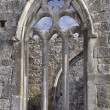 Kilmacduagh monastery, window — Stock Photo
