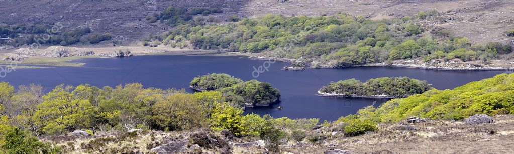 Killarney National Park - Ireland. Upper lough.  Stock Photo #11338647