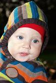 Portrait Child in outdoor — Stock Photo